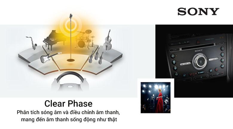 Clear Phase cho phép âm thanh sống động và rõ ràng