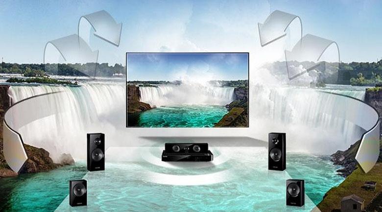 Công nghệ DTS Digital Surround cho phép âm thanh lan tỏa và sống động