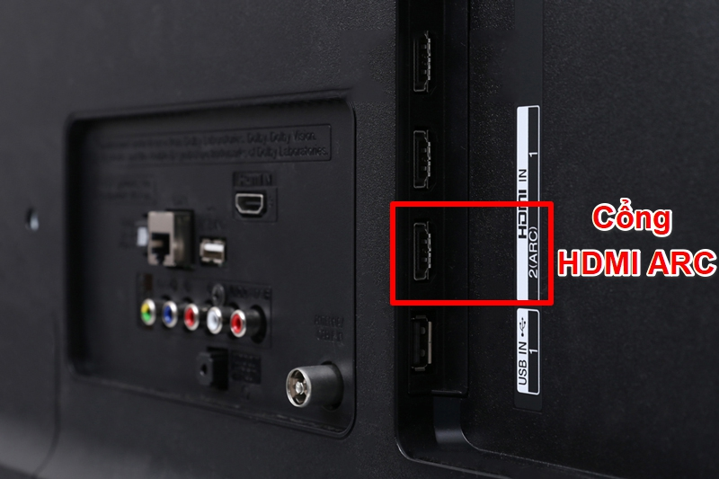 Cổng HDMI ARC trên tivi