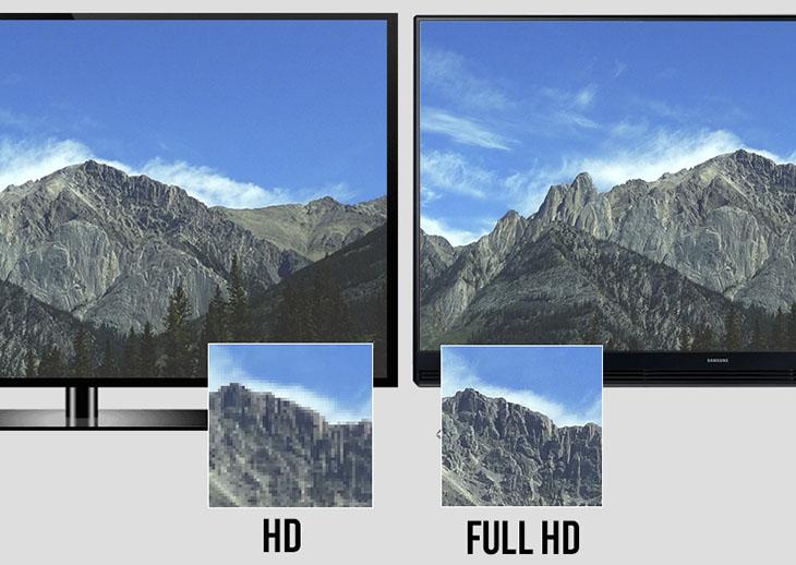 Tivi Full HD sẽ nét gấp đôi tivi HD