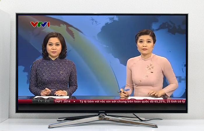 Sau khi dò kênh, bạn đã có thể xem các chương trình tivi