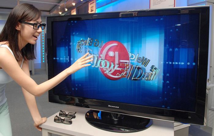 Tivi 3D cung cấp chiều không gian thứ ba, tạo cảm giác thật khi xem