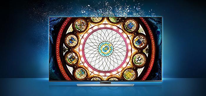 Tivi Samsung UA55HU8700 với tần số quét lên đến 1000 Hz