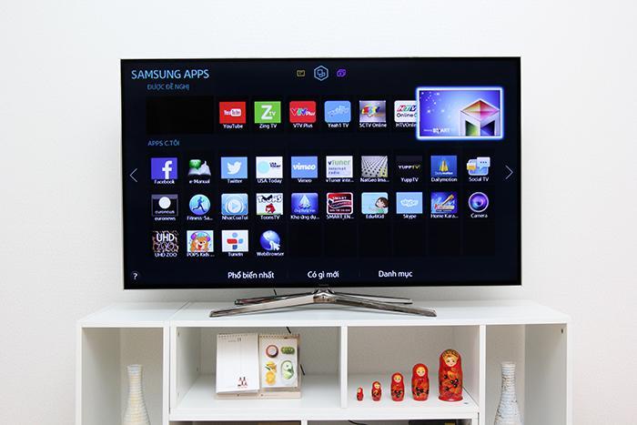 Smart TV, Internet TV và DVB-T2 Samsung-1