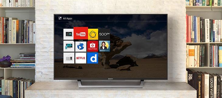 Internet tivi đơn giản và ít ứng dụng