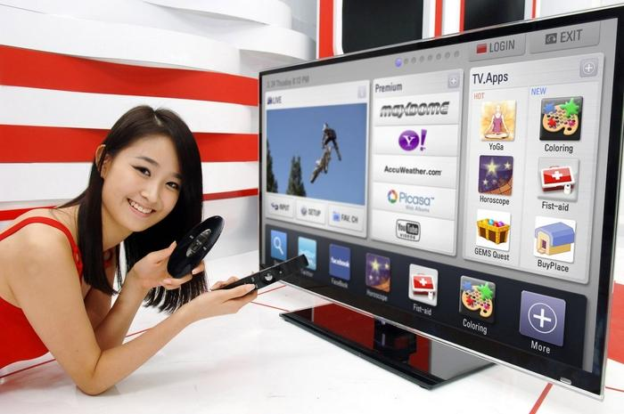 Các Smart tivi cho phép người dùng dễ dàng sử dụng các ứng dụng
