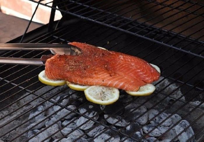 Bạn không còn phải vật lộn với món cá nướng