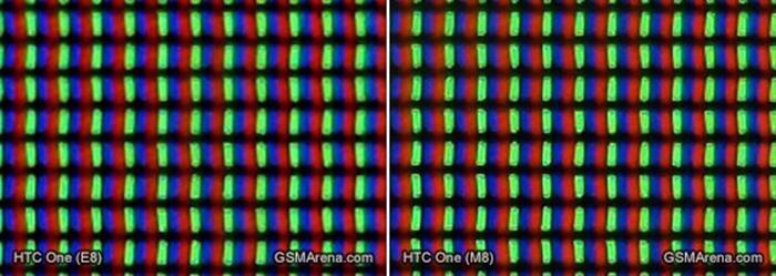 Các bit màu được sắp xếp giống hệt nhau