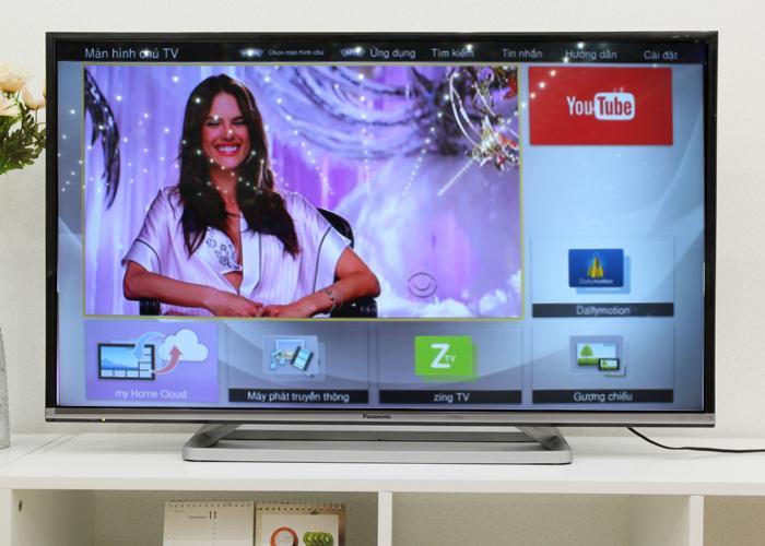 Màn hình chủ TV với các ứng dụng giải trí thông dụng
