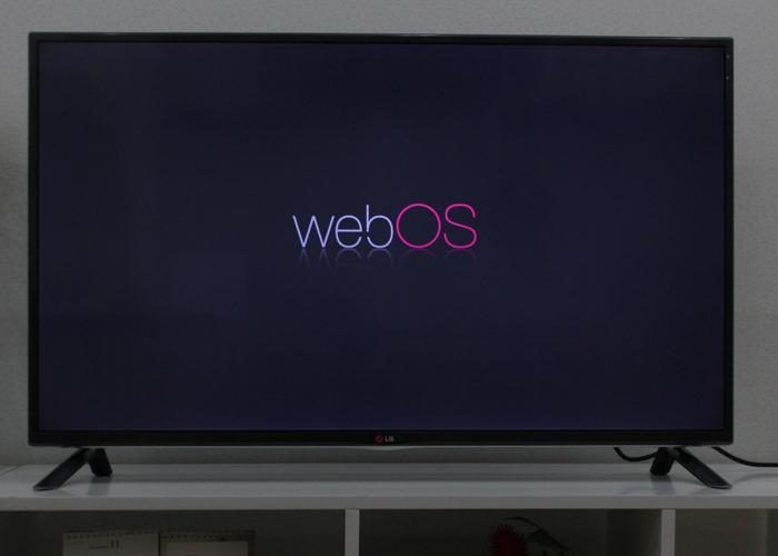Khởi động giao diện webOS