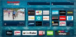 AQUOS Net trên tivi Sharp là gì?