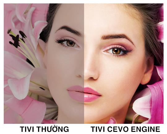 Hình ảnh tự nhiên hơn với CEVO Engine