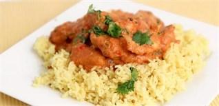 Cách làm món gà Ấn Độ tẩm bơ