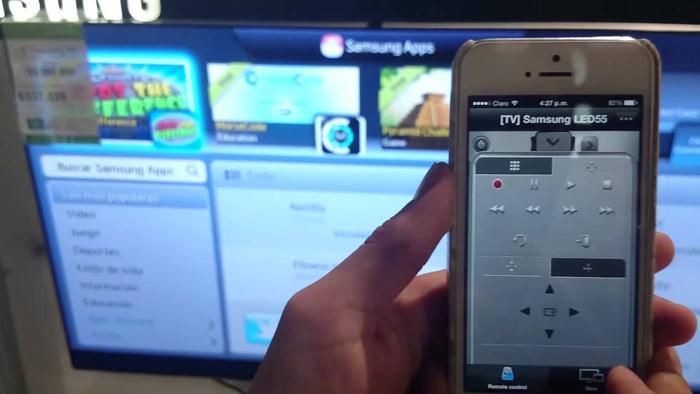 Smart View cho phép điều khiển tivi thông qua Smartphone