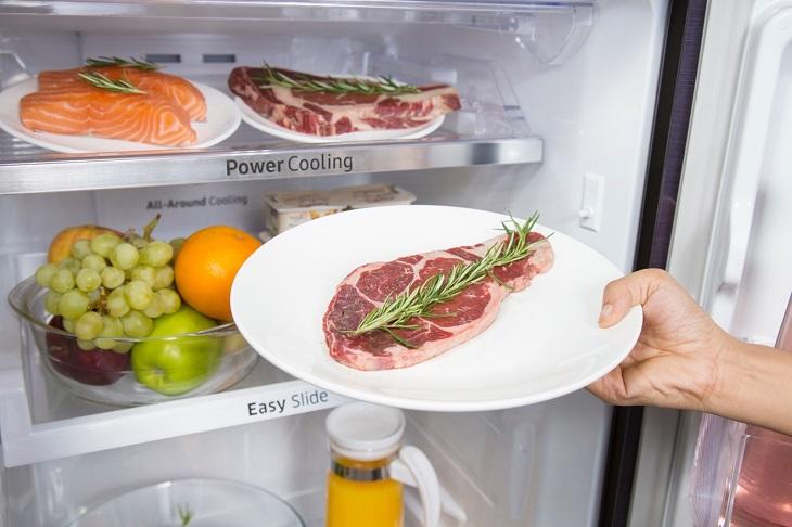 Thực phẩm sẽ được tươi mới với công nghệ Mr.Coolpack