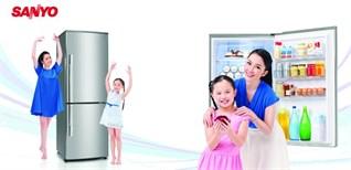 Công nghệ kháng khuẩn trên tủ lạnh Sanyo