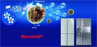 Công nghệ kháng khuẩn, khử mùi trên tủ lạnh Sharp