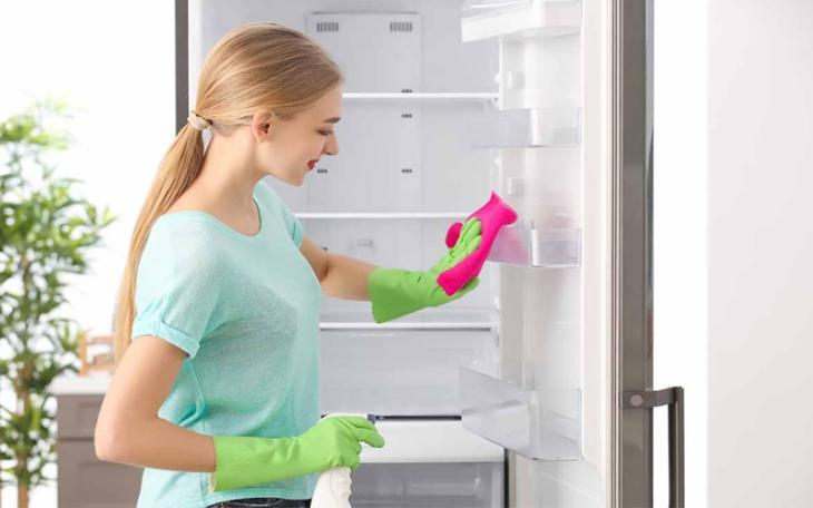 dễ dàng vệ sinh khi sử dụng tủ lạnh không đóng tuyết