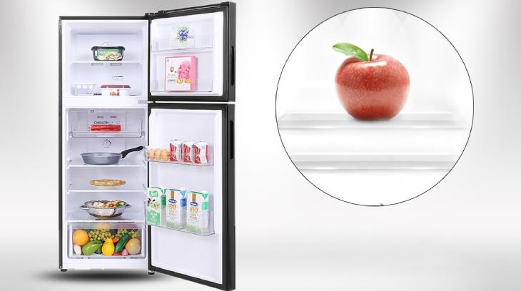 Công nghệ không đóng tuyết trên tủ lạnh