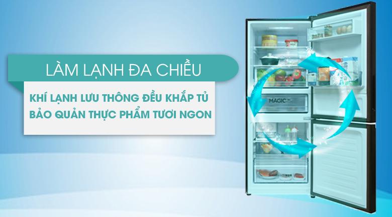 tủ lạnh không đong tuyết bảo quản thực phẩm tốt hơn