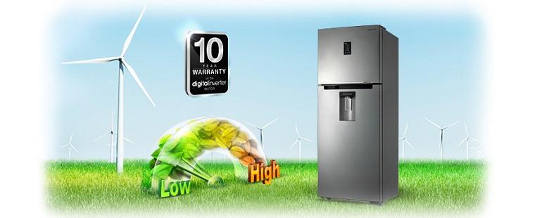 chế độ bảo hành lên đến 10 năm cho máy nén tủ lạnh Inverter