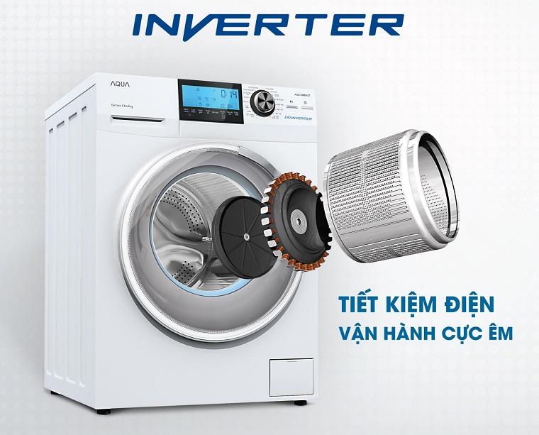 Kết quả hình ảnh cho công nghệ inverter trong máy giặt là gì