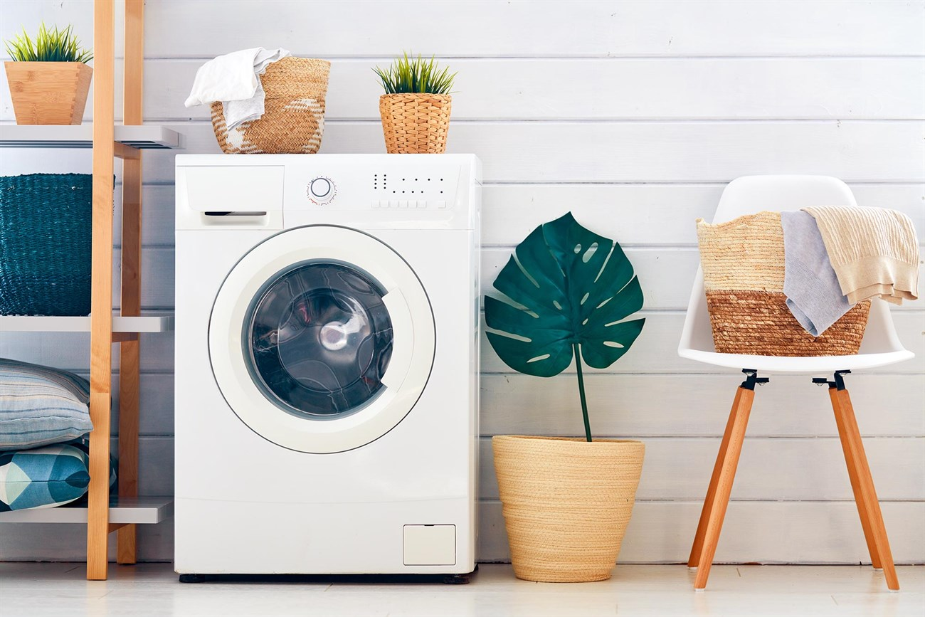 Tạm ngừng hoạt động của máy, phân bổ lại quần áo máy giặt