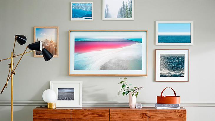 Tivi khung tranh của Samsung như một tác phẩm nghệ thuật