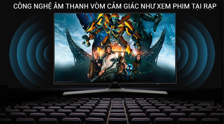 công nghệ âm thanh của tivi Samsung