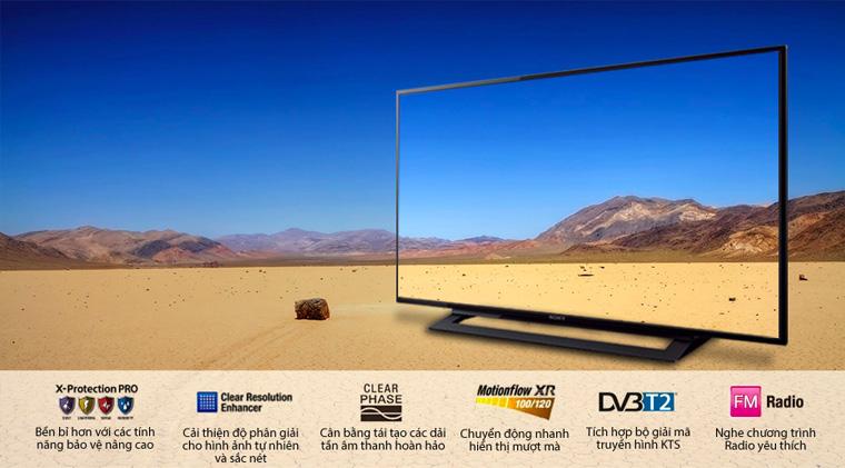 Tivi Sony giá rẻ từ 6 triệu trở lên