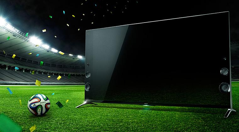Chế độ xem bóng đá trên Tivi Sony
