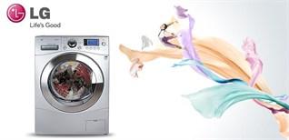 Công nghệ giặt trên máy giặt LG