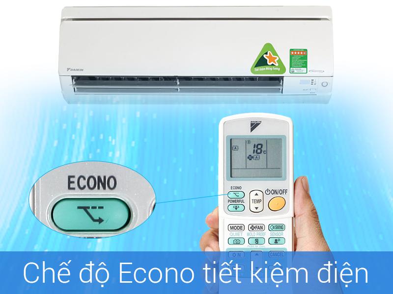 Chức năng Econo tiết kiệm điện