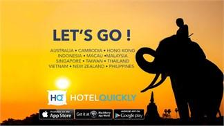 Hotel Quickly ứng dụng đặt phòng khách sạn, đối thủ đáng gờm của Agoda