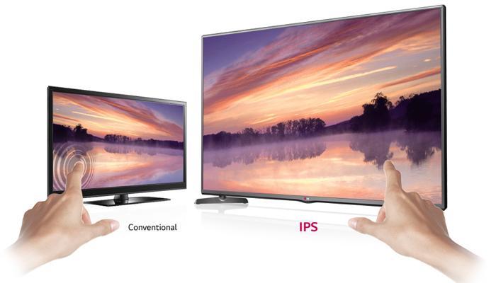 IPS mang đến hình ảnh gần với nguyên bản và gần với màu sắc tự nhiên