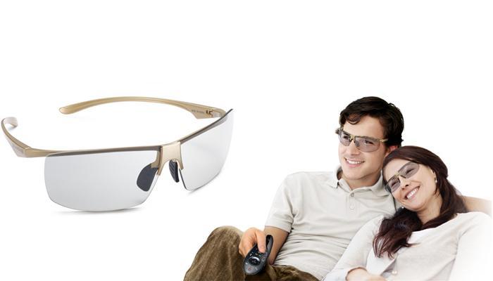 Thưởng thức 3D với kính 3D tiện dụng