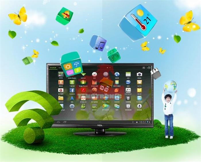 Ứng dụng giao diện Android nổi bật của TCL
