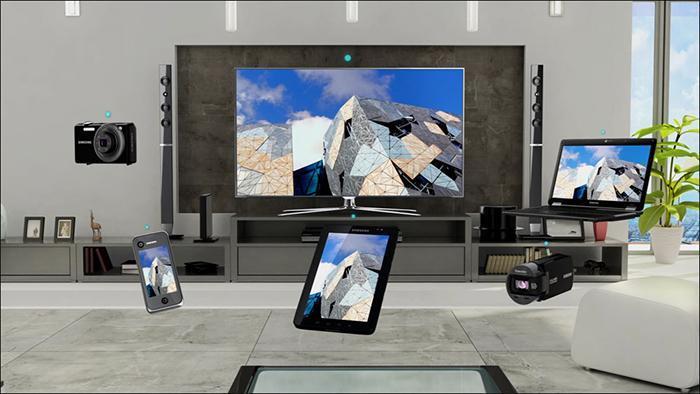 Tivi TCL cho phép kết nối, chia sẻ đa dạng với nhiều thiết bị khác nhau