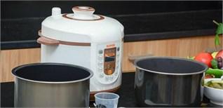 Tận dụng ngay các chế độ nấu của nồi áp suất điện tử cho bữa ăn gia đình mỗi ngày