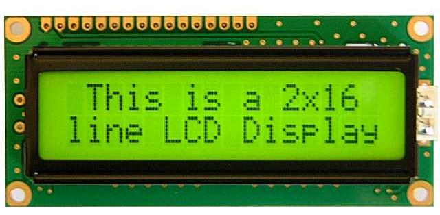 Màn hình LCD thô sơ