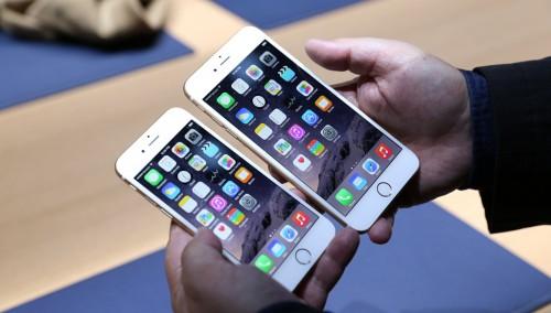 Màn hình LED-backlit IPS LCD trên iPhone 6 và 6 Plus