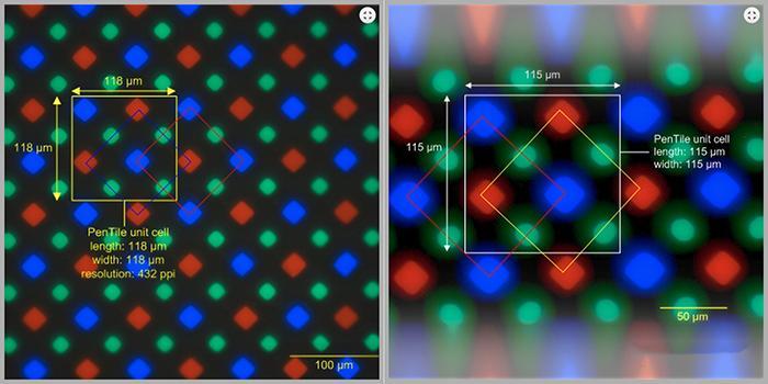 Công nghệ sắp xếp ma trận kim cương trên Samsung Galaxy S5