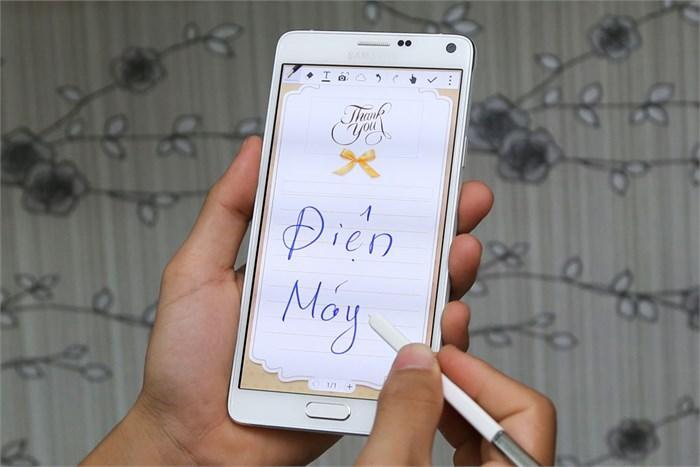 Màn hình Super AMOLED siêu nét trên Samsung Galaxy Note 4