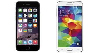Galaxy S5 vẫn dẫn đầu bảng xếp hạng, Phone 6 chỉ đứng thứ 3