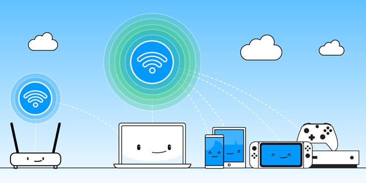 Wifi Hotspot trên thiết bị di động.