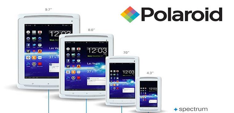 Polaroid trình làng máy tính bảng Android rẻ nhất thế giới