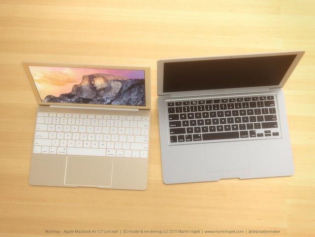 Ngỡ ngàng với vẻ đẹp dòng MacBook Air năm 2015 của Apple 5