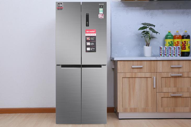 Tủ lạnh Sharp Inverter 401 lít SJ-FXP480V-SL