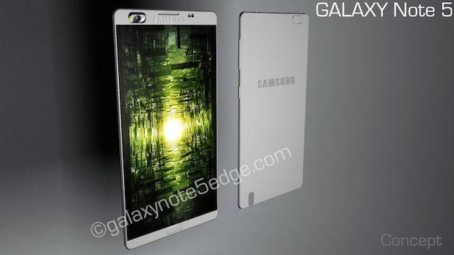 Chiêm ngưỡng bản thiết kế Galaxy Note 5 cực ngầu 8