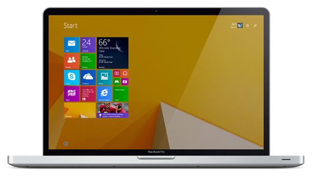 hệ điều hành windows trên macbook